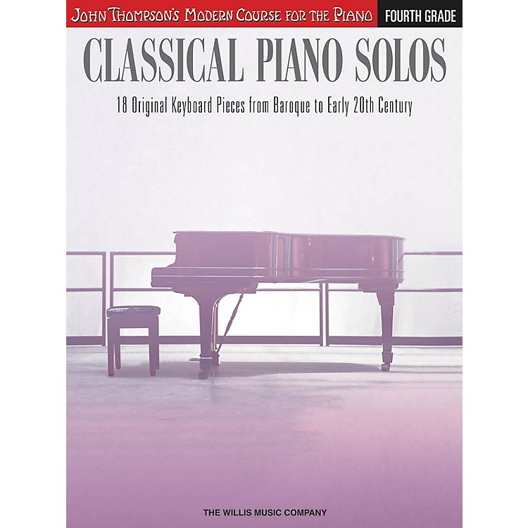 Willis MusicClassical Piano Solos - Fourth Grade Willis Series Book by Various (Level Inter to Advanced)