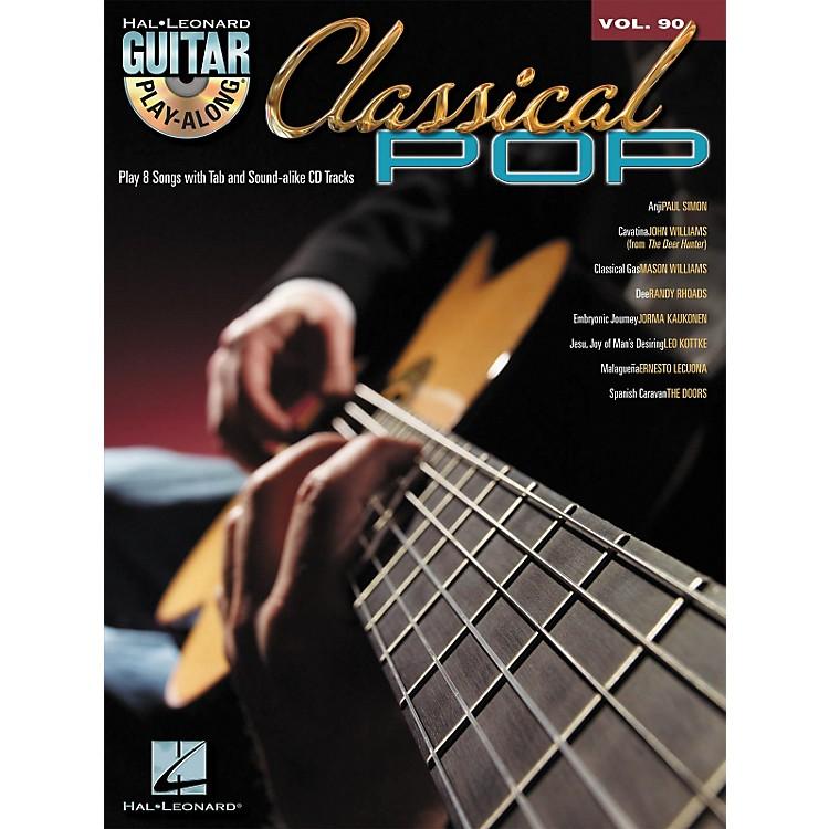 Hal LeonardClassical Pop - Guitar Play-Along Volume 90 (Book/CD)