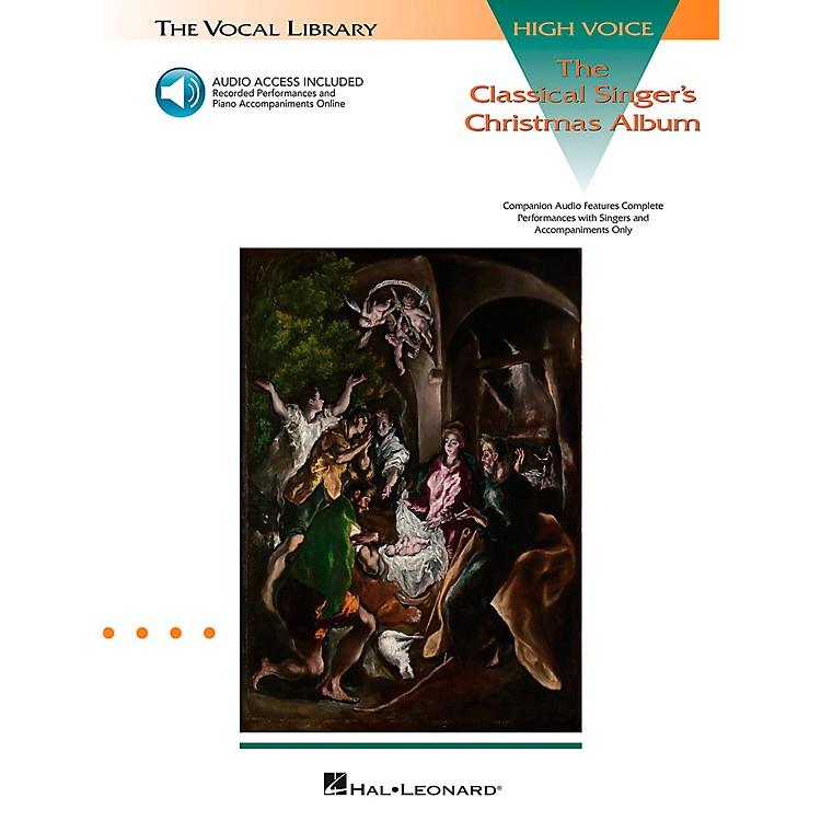 Hal LeonardClassical Singers Christmas Album for High Voice Book/CD Pkg