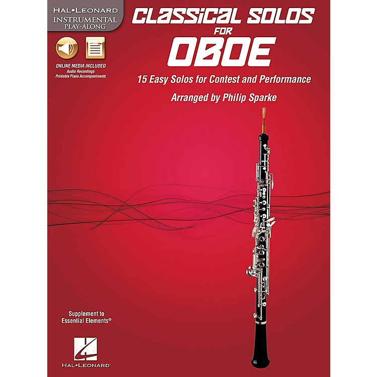 De Haske MusicClassical Solos - 15 Easy Solos for Contest and Performance Book/CDOboe
