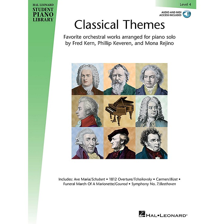 Hal LeonardClassical Themes - Level 4 Piano Library Series Book Audio Online