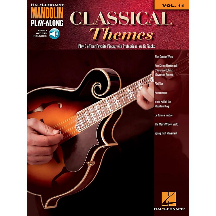 Hal LeonardClassical Themes - Mandolin Play-Along Vol. 11 (Book/Audio Online)