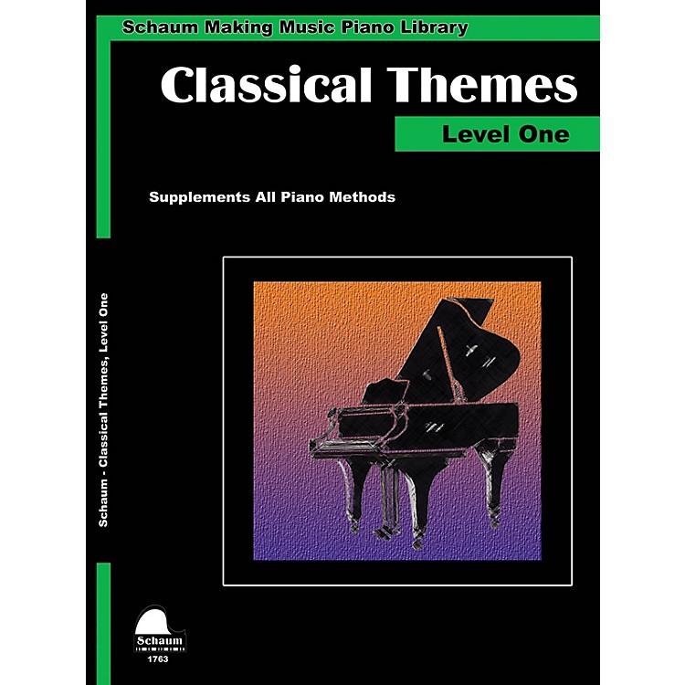 SCHAUMClassical Themes Level 1 (Schaum Making Music Piano Library) Educational Piano Book (Level Elem)