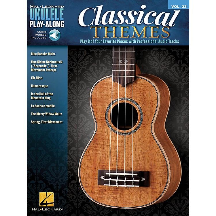 Hal LeonardClassical Themes (Ukulele Play-Along Volume 33) Ukulele Play-Along Series Softcover Audio Online
