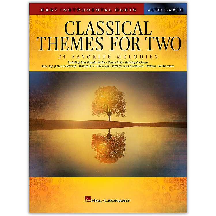 Hal LeonardClassical Themes for Two Alto Saxophones - Easy Instrumental Duets