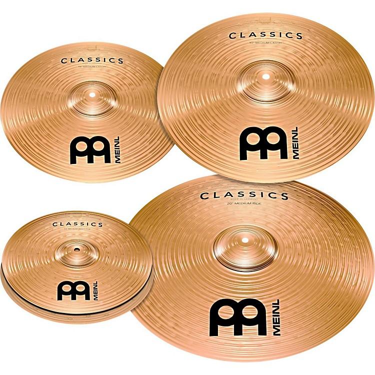 MeinlClassics Bonus Pack Cymbal Box Set with FREE 18