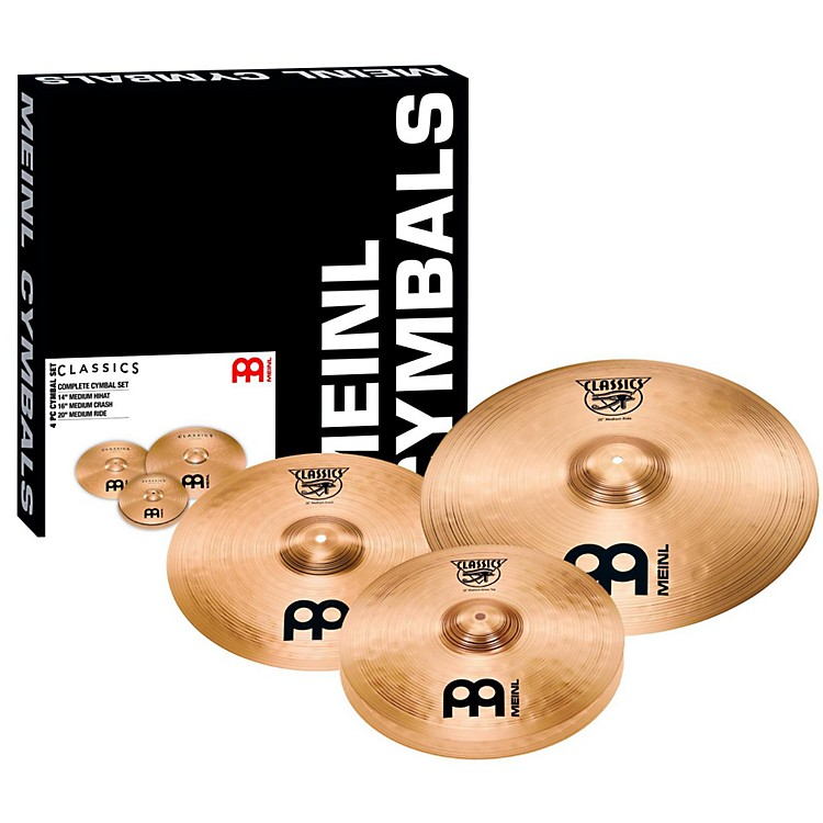 MeinlClassics Complete Cymbal Box Set