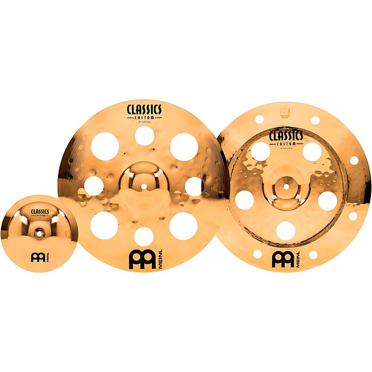MeinlClassics Custom Brilliant Effects Cymbal Pack with Free 8