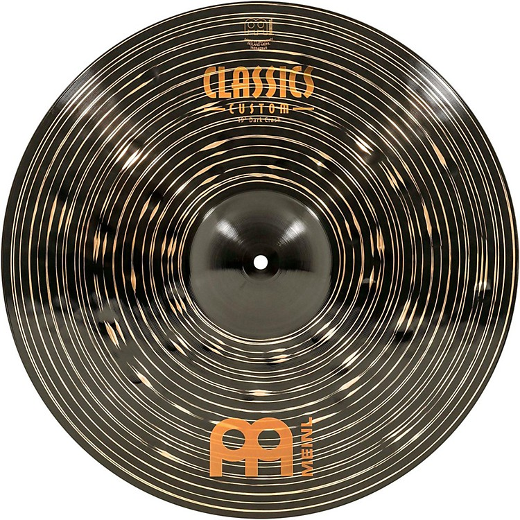 Meinl Classics Custom Dark Crash Cymbal 19 in.