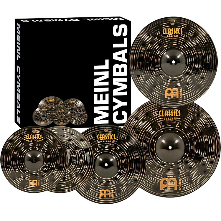 Meinl Classics Custom Dark Pack Bonus Box Set with FREE 18
