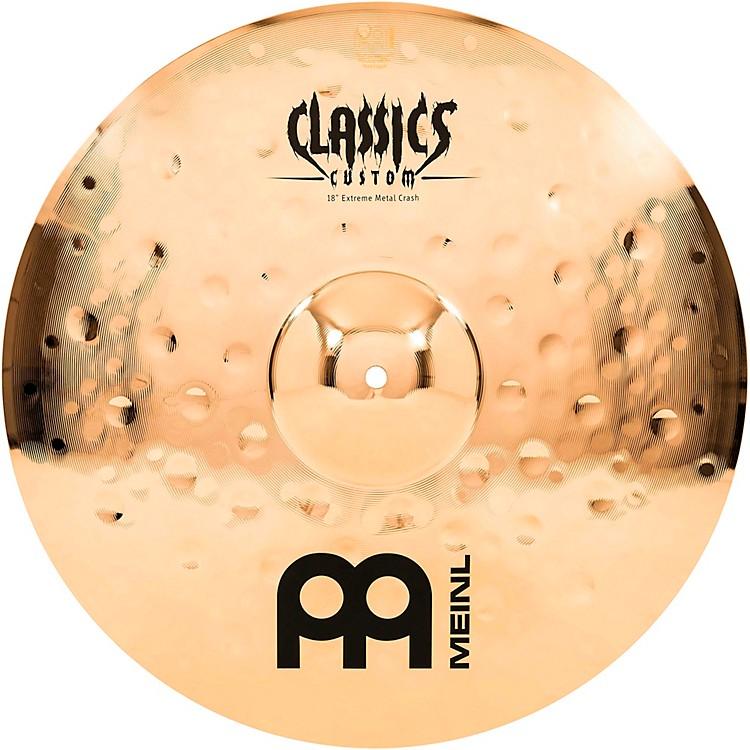 MeinlClassics Custom Extreme Metal Crash Cymbal18 in.