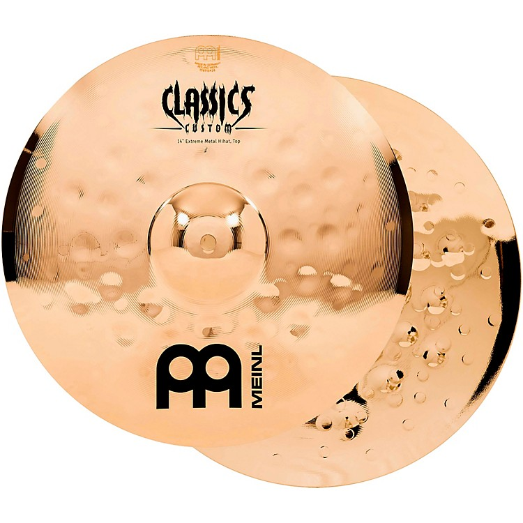Meinl Classics Custom Extreme Metal Hi-Hat Cymbal Pair 14 in.