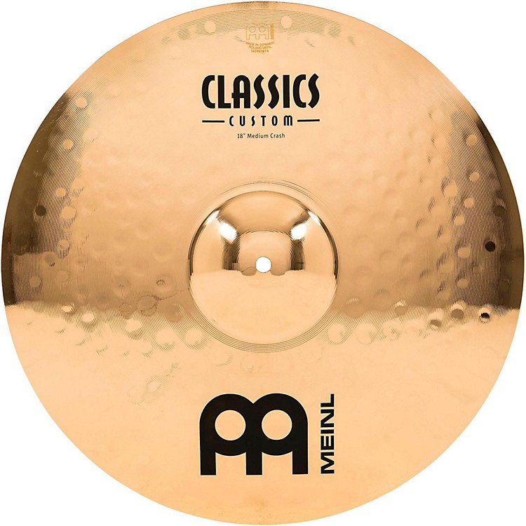 Meinl Classics Custom Medium Crash - Brilliant 18 in.