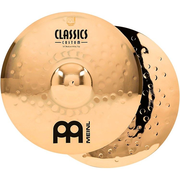 MeinlClassics Custom Medium Hi-Hats - Brilliant14 in.888366069790