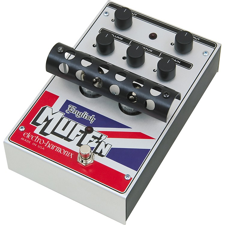 Electro-Harmonix Classics English Muff'n Overdrive Guitar Effects Pedal Regular 888365728148