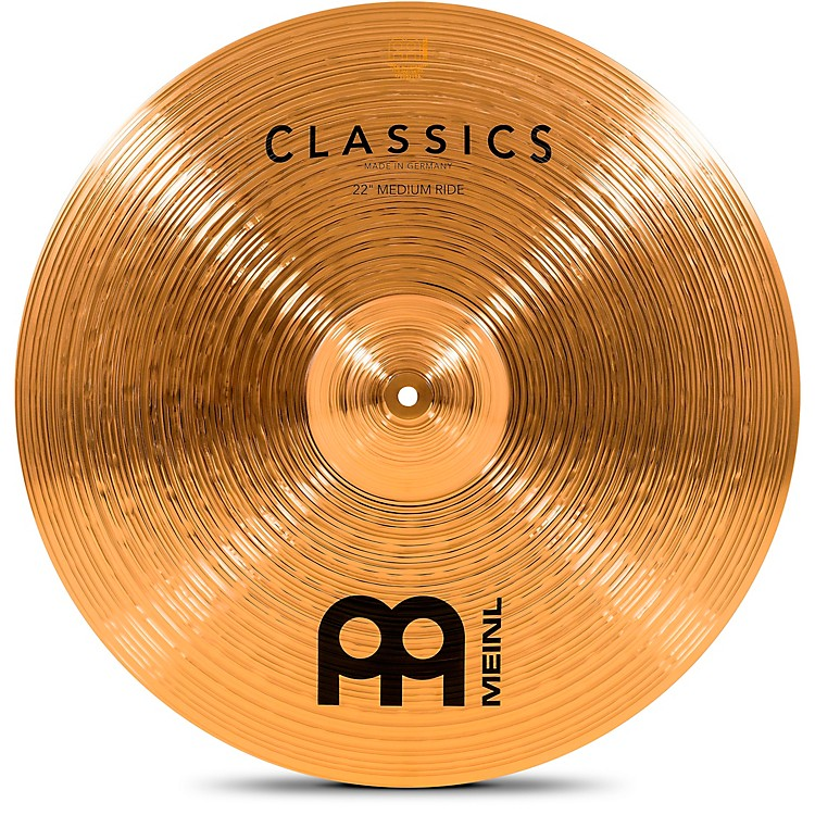Meinl Classics Medium Ride Cymbal 21 in.