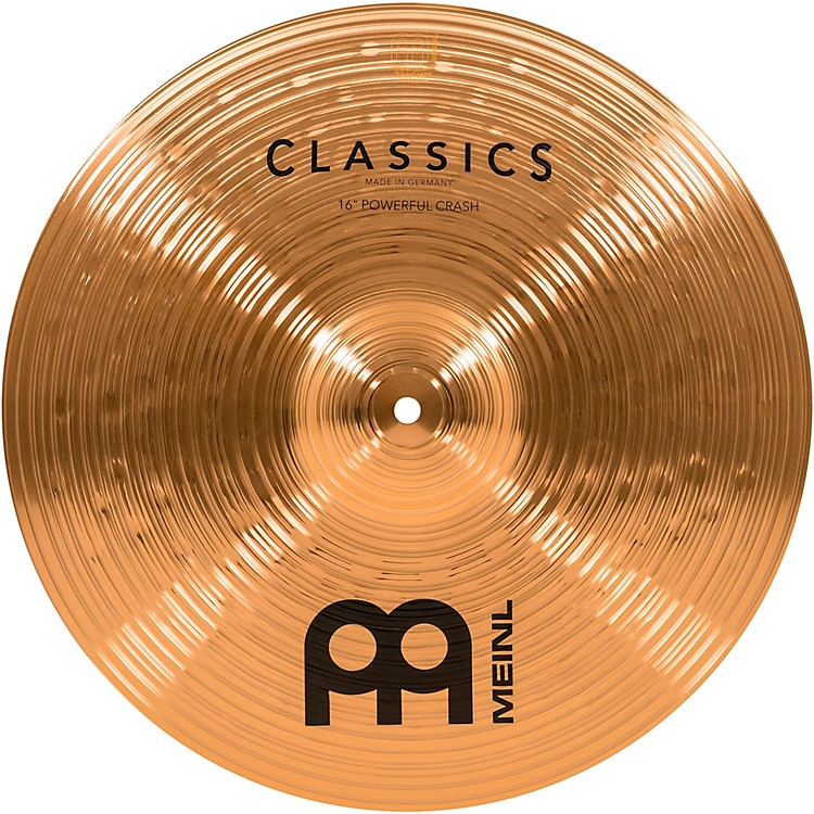 Meinl Classics Powerful Crash Cymbal 16 in.