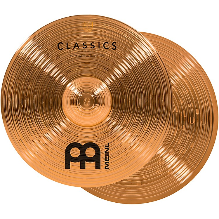 Meinl Classics Powerful Hi-Hat Cymbals 14 in.