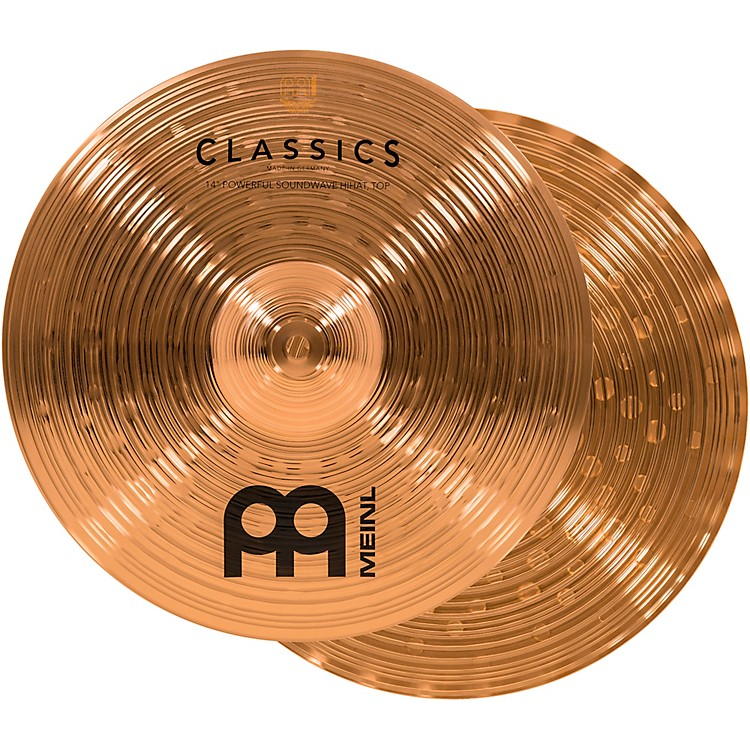 Meinl Classics Powerful Soundwave Hi-Hat Cymbals 14 in.