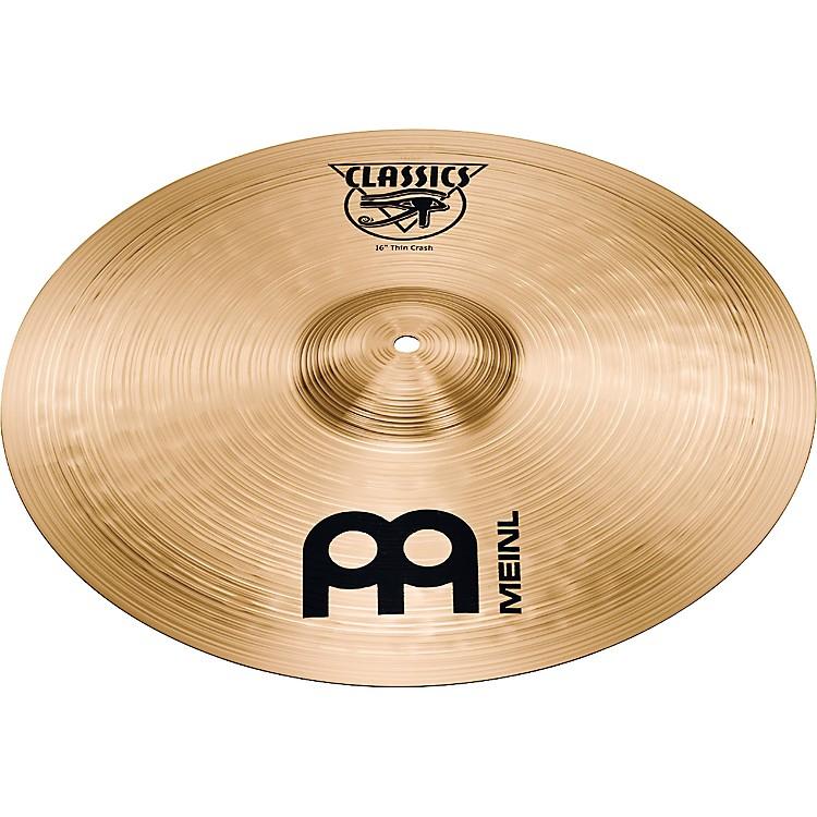 MeinlClassics Thin Crash Cymbal16 in.