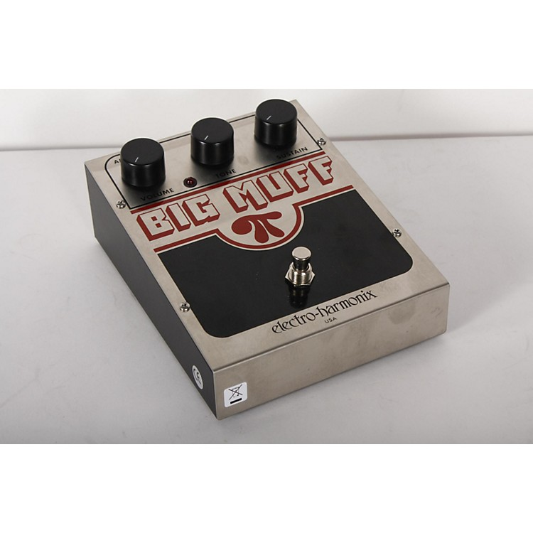 Electro-Harmonix Classics USA Big Muff PI Distortion / Sustainer Guitar Effects Pedal Regular 888365901794
