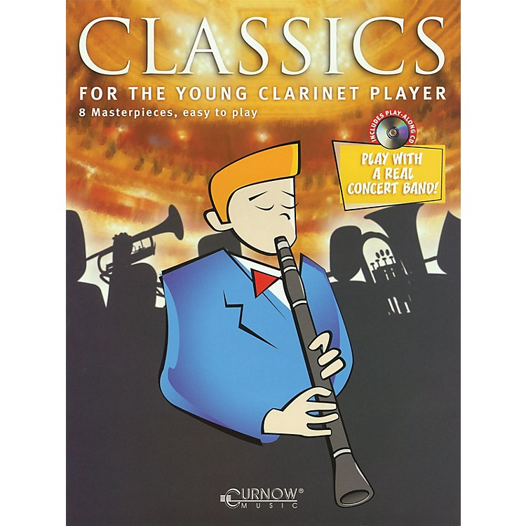 Curnow MusicClassics for the Young Player (Clarinet - Grade 1.5) Concert Band Level 1.5