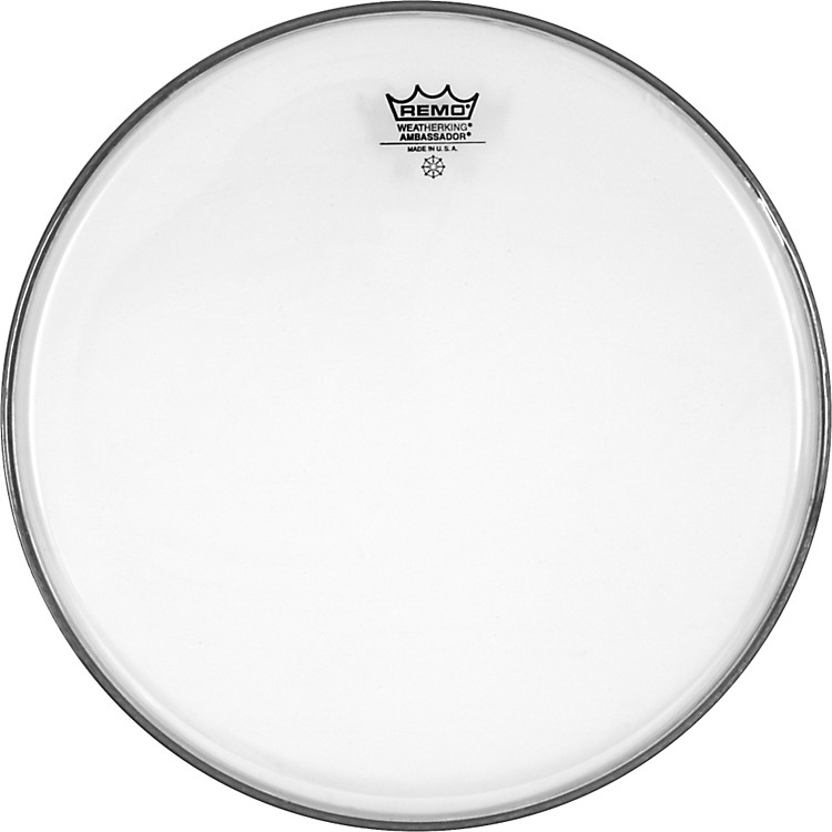 Remo Clear Ambassador Head  13 in.