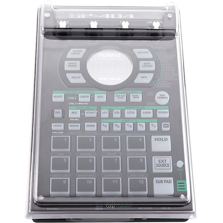 DecksaverClear Polycarbonate Cover for Roland SP404, SP404A and SP404SX