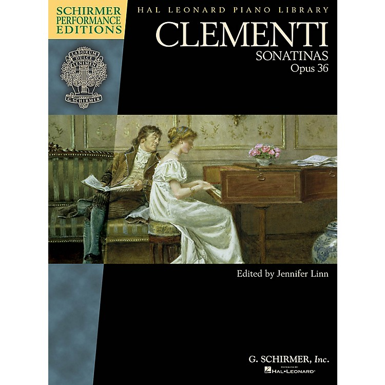 G. SchirmerClementi - Sonatinas, Opus 36 Schirmer Performance Editions by Clementi Edited by Jennifer Linn