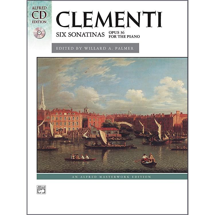 AlfredClementi Six Sonatinas Op. 36 Intermediate Book & CD Piano