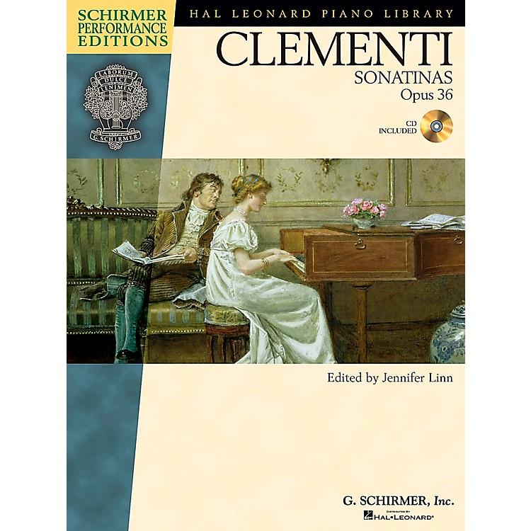 G. SchirmerClementi Sonatinas Op 36 Book/CD - Schirmer Performance Edition By Clementi / Linn