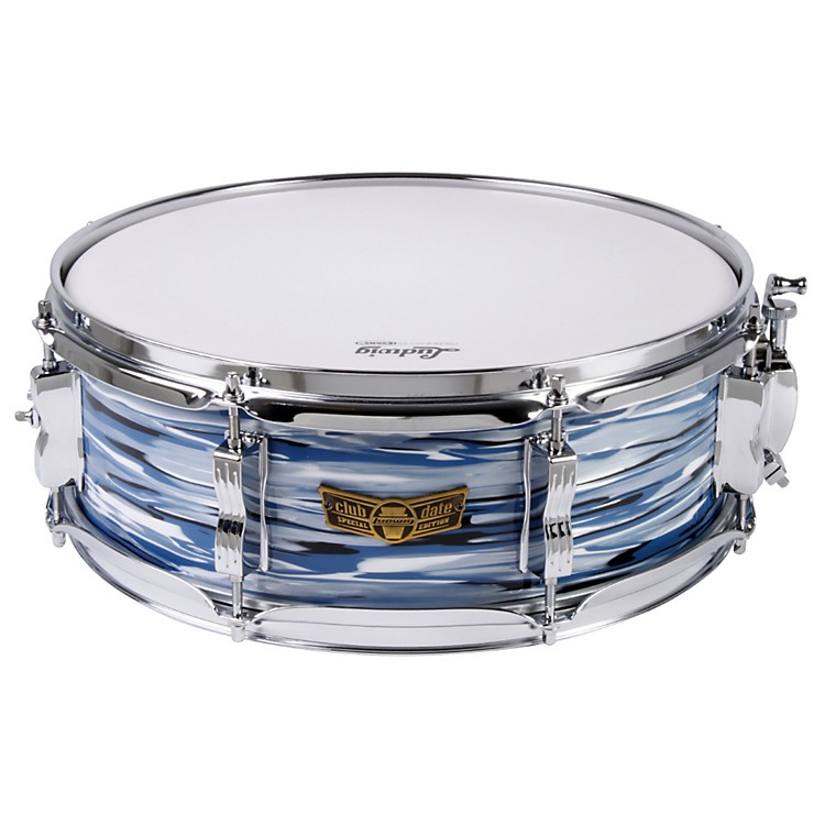 LudwigClub Date Snare DrumBlue Oyster Pearl5x14