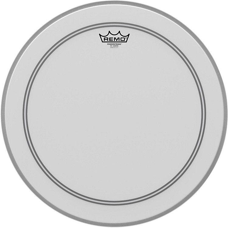 RemoCoated Powerstroke 3 Bass Drum Head18 in.