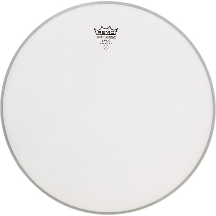 RemoCoated Topside Banjo Head11 in.Low