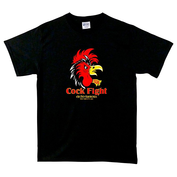 Electro-Harmonix Cock Fight T-Shirt Medium Black