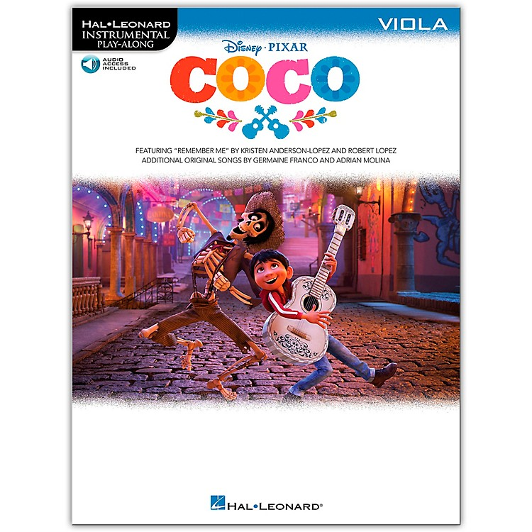 Hal Leonard Coco For Viola - Instrumental Play-Along (Book/Audio Online)