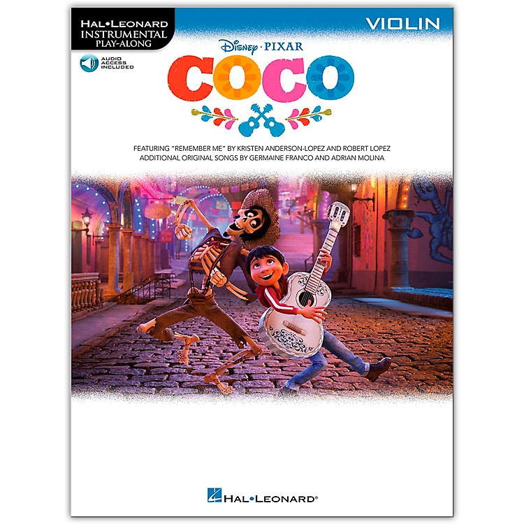 Hal LeonardCoco For Violin - Instrumental Play-Along (Book/Audio Online)