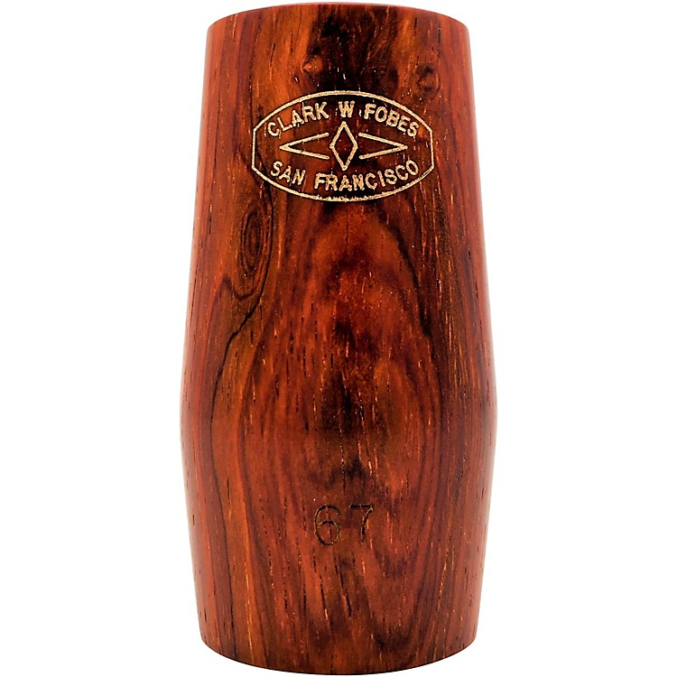 Clark W Fobes Cocobolo Rubber-Lined Clarinet Barrel A Clarinet - 64 mm