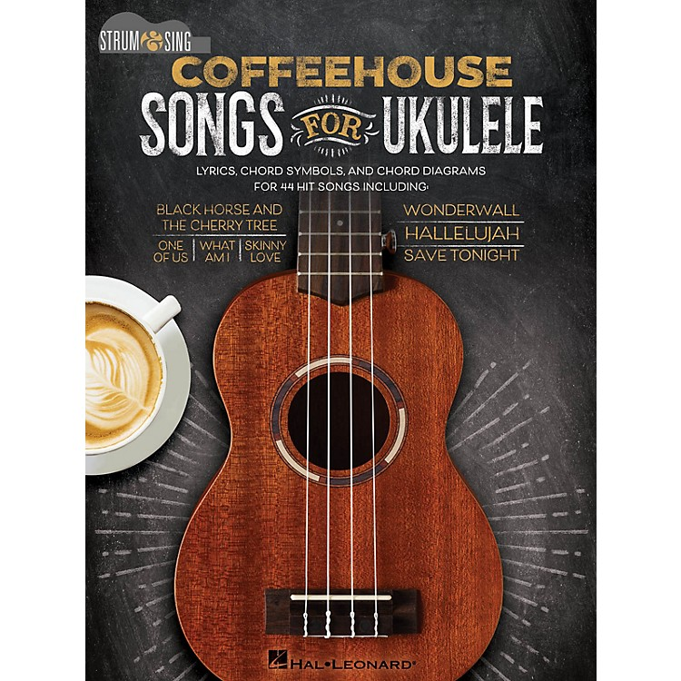 Hal LeonardCoffeehouse Songs for Ukulele - Strum & Sing Series Songbook