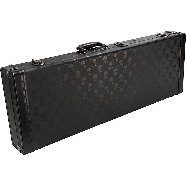 Coffin CaseCoffin Skull Series Guitar CaseBlackRed