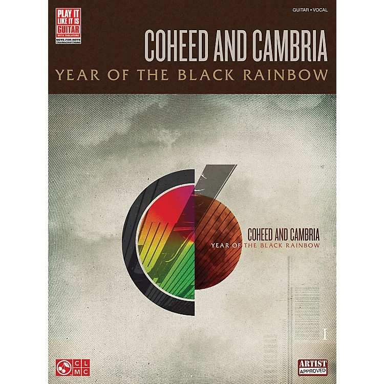 Cherry Lane Coheed And Cambria - Year Of The Black Rainbow Guitar Tab Songbook