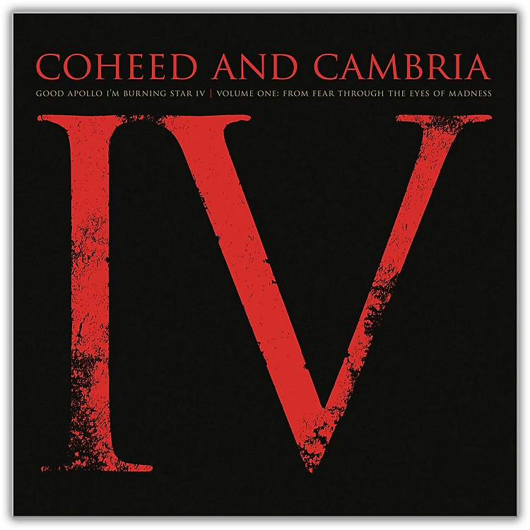 SonyCoheed and Cambria/Good Apollo I'm Burning Star IV Volume One:  From Fear Through The Eyes Of Madness (2 LP)