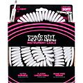 Ernie Ball Coiled Ultraflex Straight-Angle Instrument Cable - White