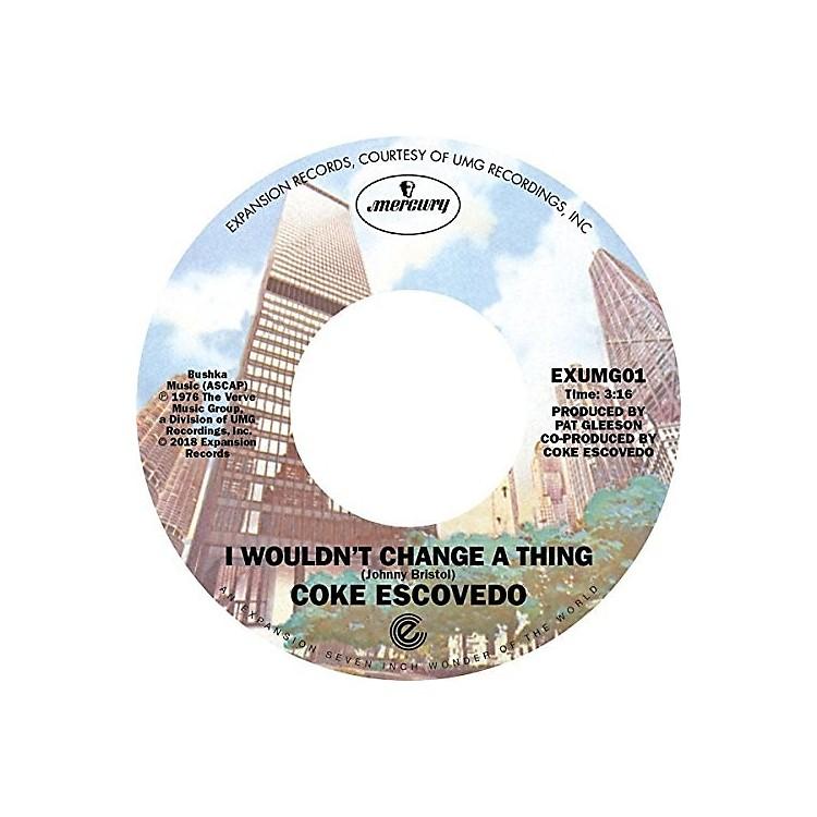 AllianceCoke Escovedo - I Won't Change a Thing / Rebirth
