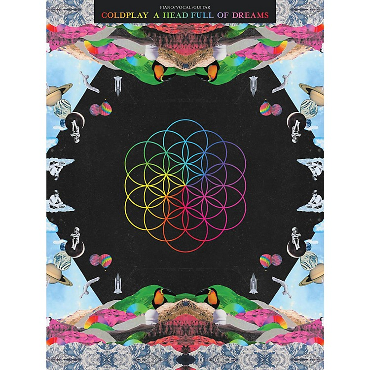 Hal Leonard Coldplay - A Head Full of Dreams for Piano/Vocal/Guitar