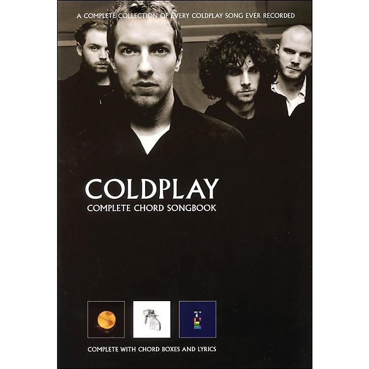 Hal LeonardColdplay - Complete Chord Songbook