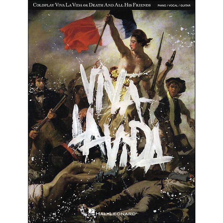 Hal LeonardColdplay - Viva La Vida arranged for piano, vocal, and guitar (P/V/G)