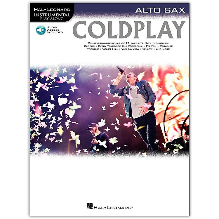 Hal LeonardColdplay For Alto Sax - Instrumental Play-Along Book/Online Audio