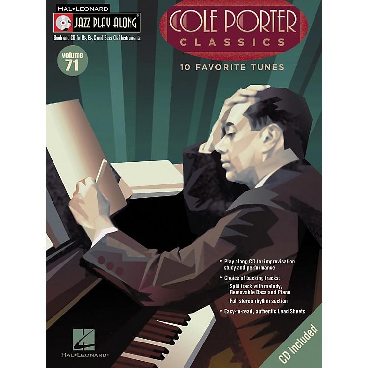 Hal LeonardCole Porter Classics - Jazz Play Along Volume 71 Book with CD
