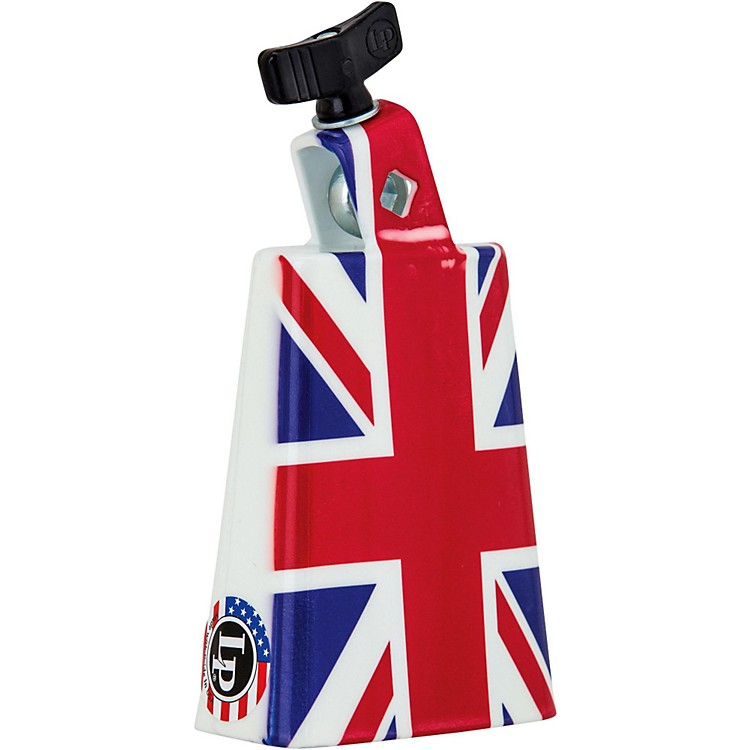 LP Collectabells Union Jack Cowbell 5 in.